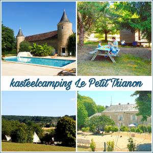 Camping tip Frankrijk: kasteelcamping Le Petit Trianon de Saint Ustre