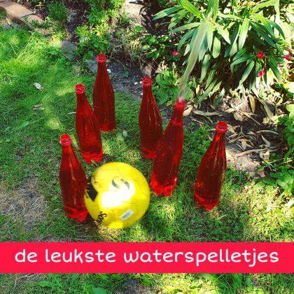 De leukste waterspelletjes voor kinderen, thuis of op de camping