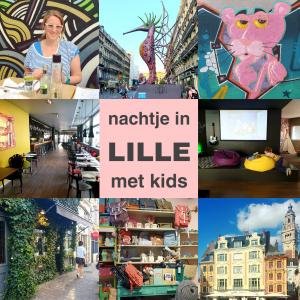 Nachtje Lille met kinderen: overnachten op weg naar Zuid Frankrijk