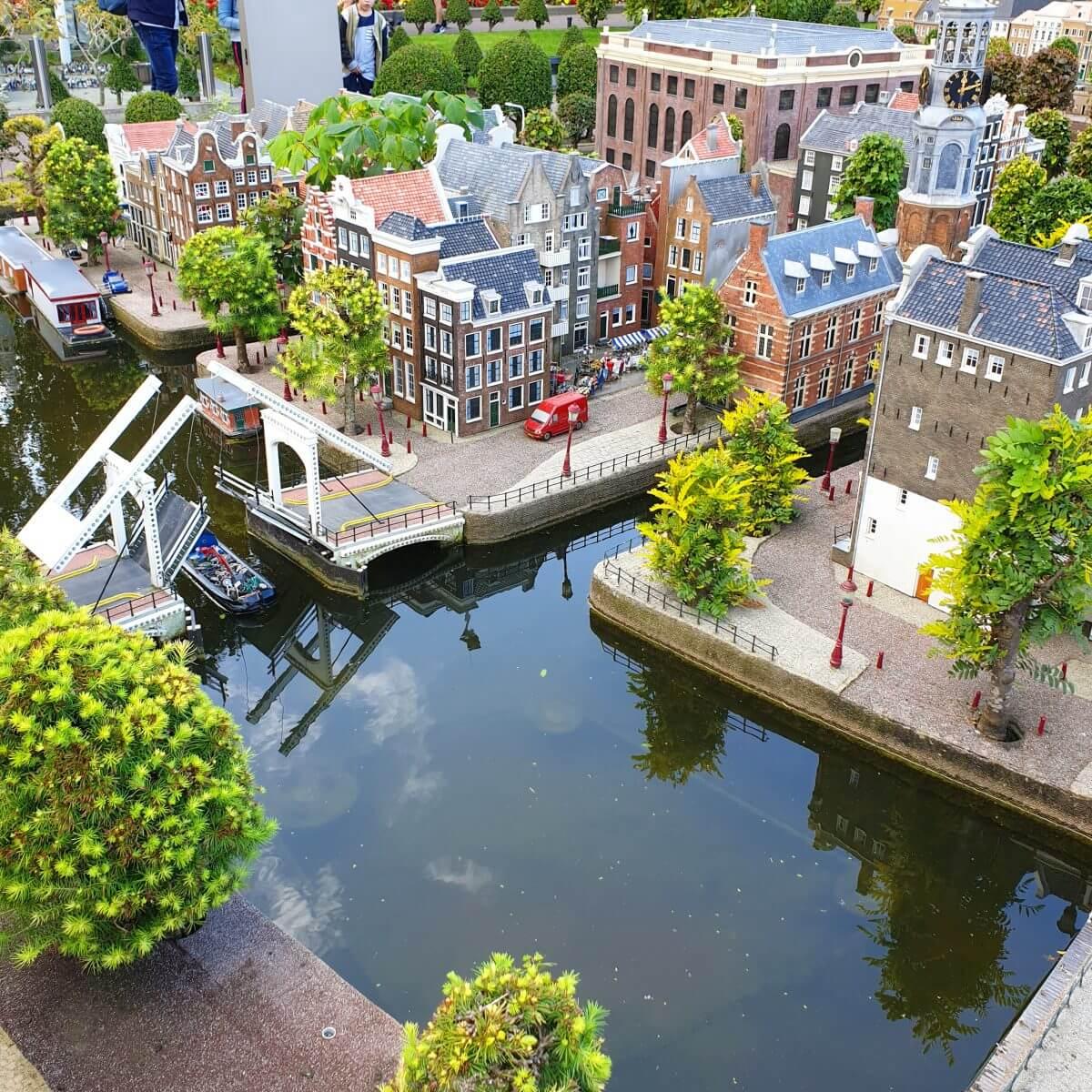 Madurodam in Den Haag: miniatuurstad