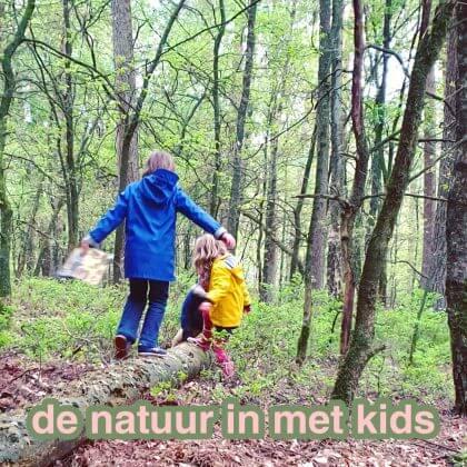 De natuur in met kinderen: uitjes, vakantie, knutselen en boeken