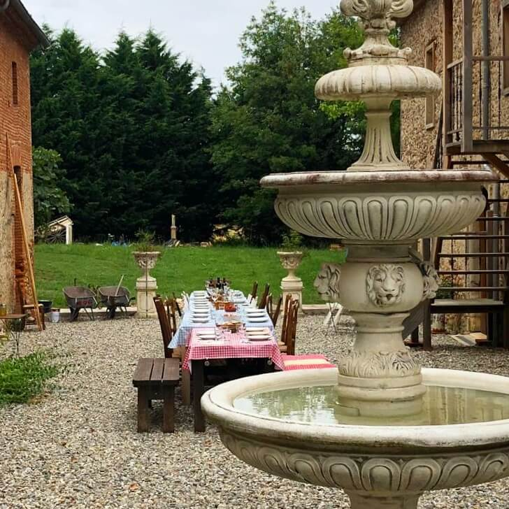 Table d'hôtes op kindvriendelijke camping en gîtes: Domaine de Marque in de Pyreneeën
