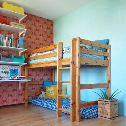 Eco hoeslaken van Swedish Linens voor kinderbed in alle maten