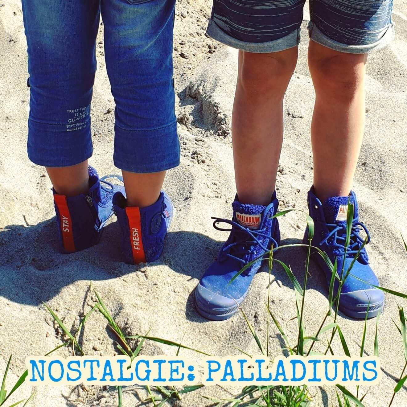 Nostalgie: stoere Palladium kinderschoenen