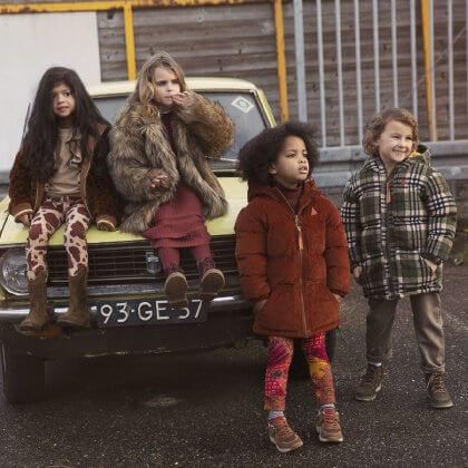 Ammehoela duurzame winterjassen voor jongens en meisjes