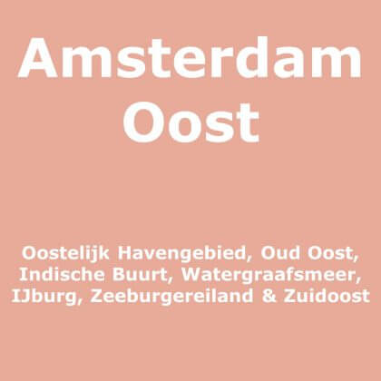 Amsterdam Oost met kinderen