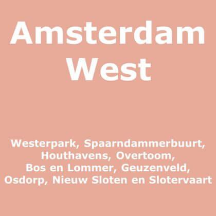 Amsterdam West met kinderen