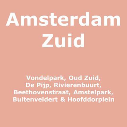 Amsterdam Zuid met kinderen