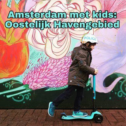 Amsterdam met kinderen, Oostelijke eilanden