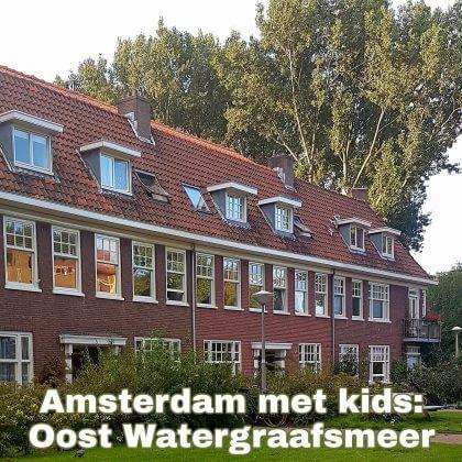 Amsterdam Oost Watergraafsmeer met kinderen