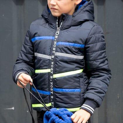 De leukste winterjassen voor meisjes en jongens + hier let je op - jongensjassen en meisjesjassen van B.Nosy van gerecycled polyester
