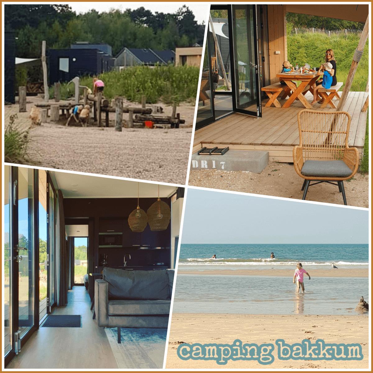 Camping Bakkum kamperen, hippe stacaravans en luxe huisjes