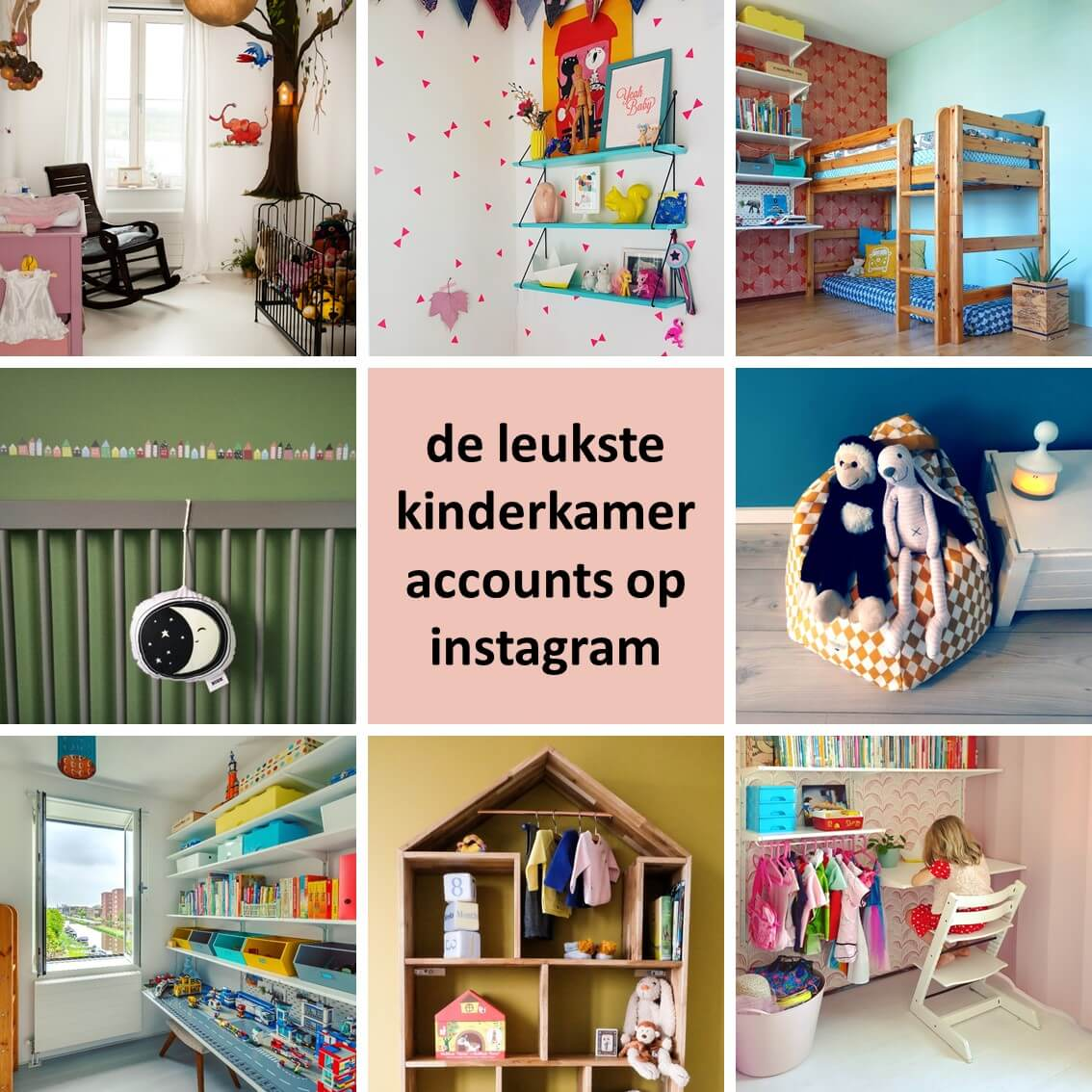 De leukste kinderkamer accounts op Instagram