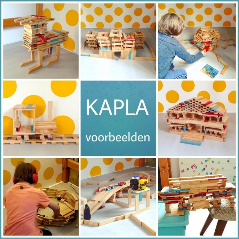 KAPLA voorbeelden: inspiratie om zelf te bouwen voor kinderen