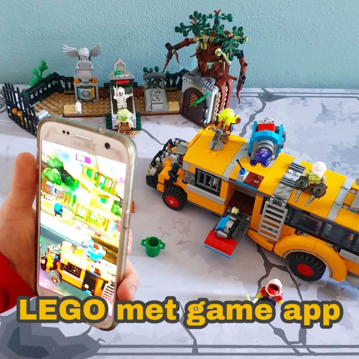 LEGO Hidden Side met augmented reality app game