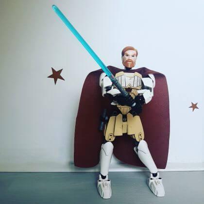Verjaardagscadeau voor kids van 6, 7 of 8 jaar: leuke cadeau tips voor de kinderen - Lego Star Wars Obi-Wan Kenobi #leukmetkids
