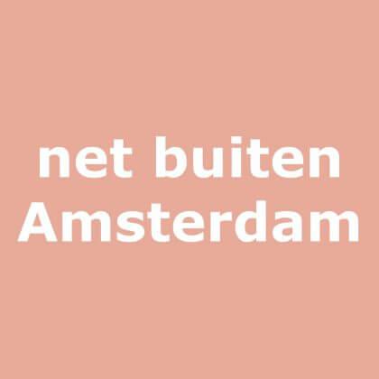 vlakbij Amsterdam