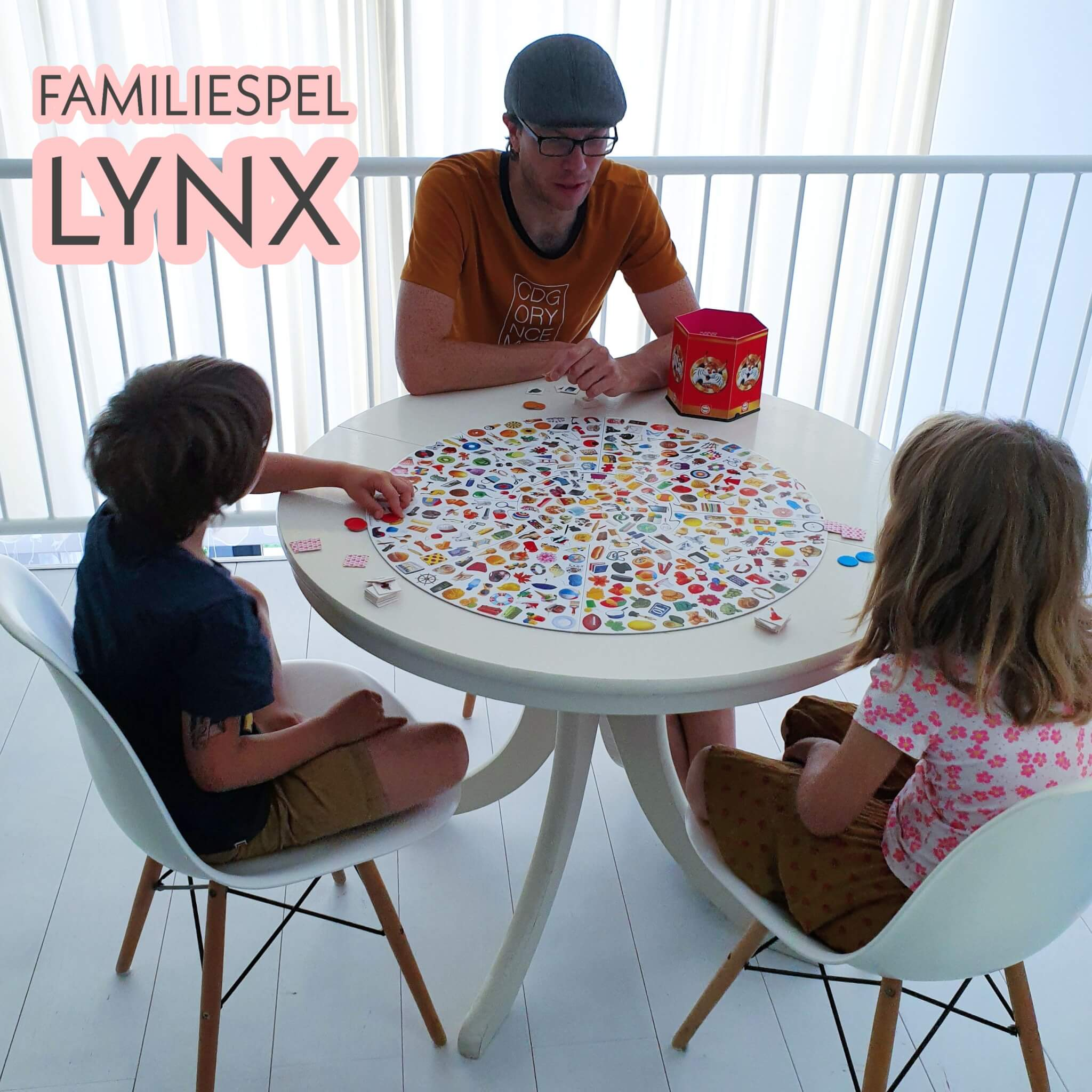Review familiespel Lynx: wie is het snelst?