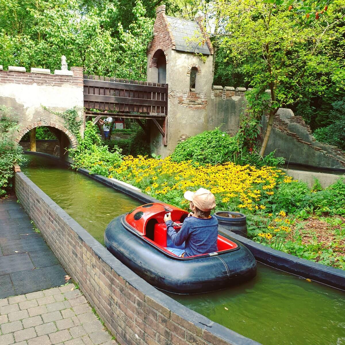 Dobberbootjes in Sprookjeswonderland