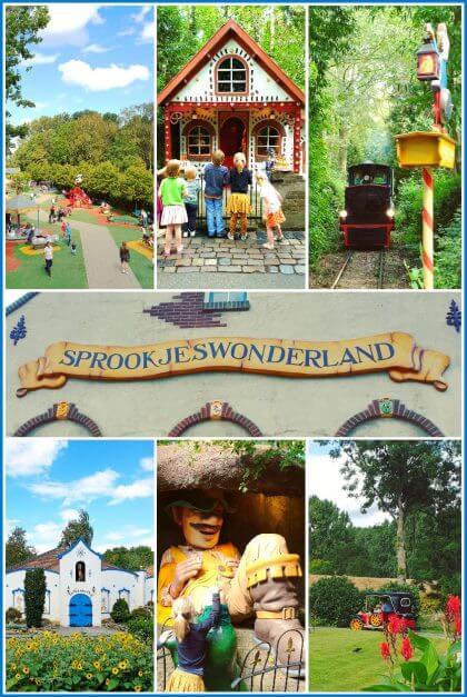 Sprookjeswonderland: sprookjesbos, speeltuin en attracties voor jonge kids
