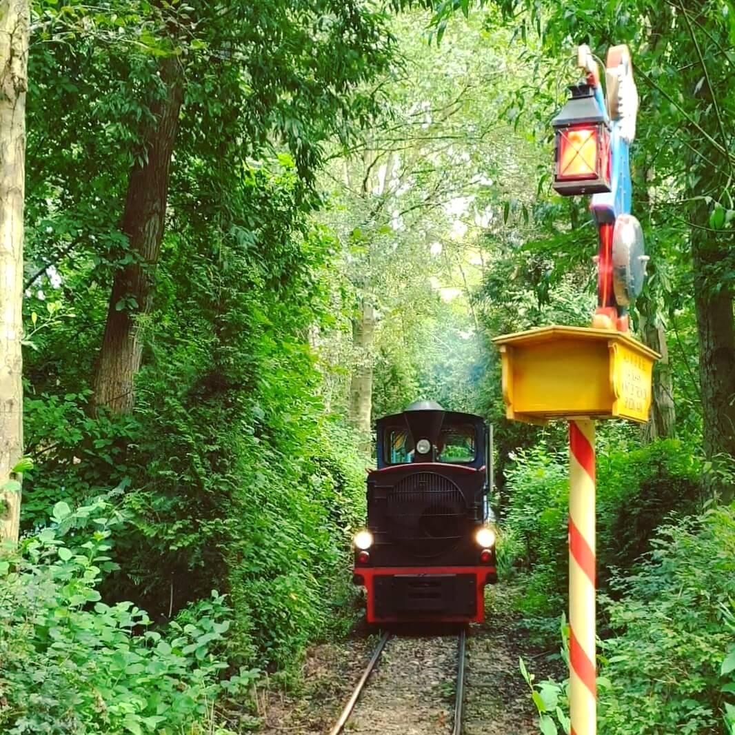 Sprookjeswonderland trein