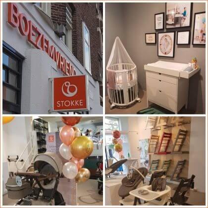 Stokke Brand Store in de Boezemvriend in Amsterdam