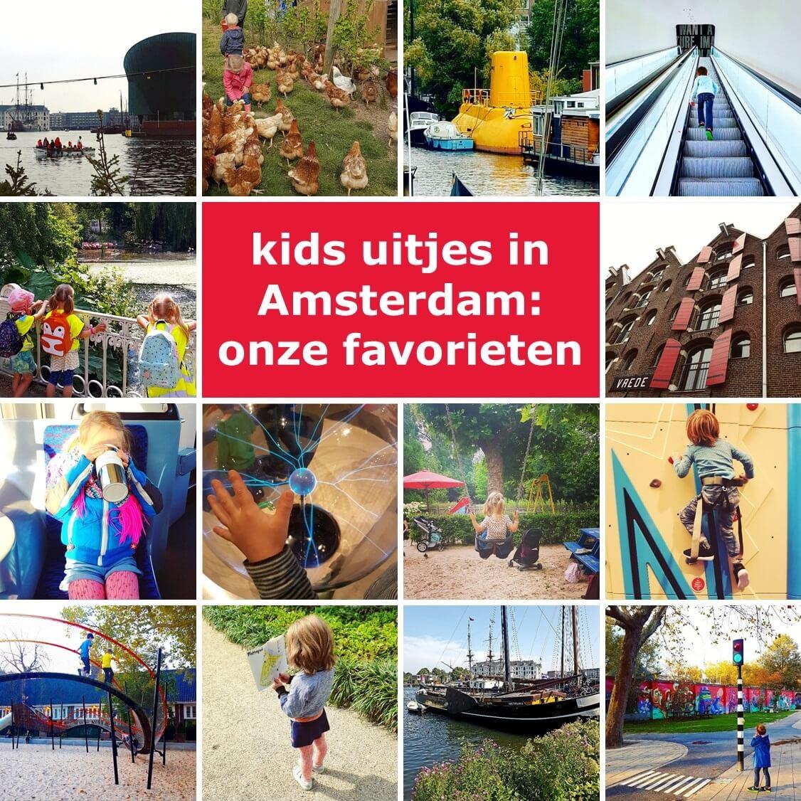 Uitjes in Amsterdam met kinderen: onze favorieten