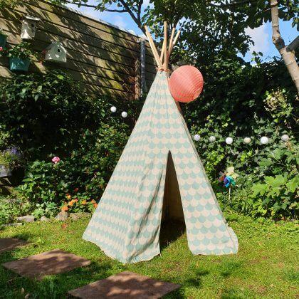 Duurzaam speelgoed: cadeau ideeën voor kinderen - tipi tenten