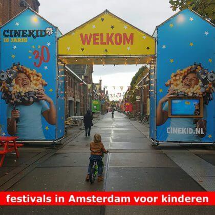 De leukste festivals in Amsterdam voor kinderen