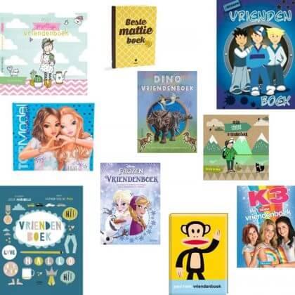 Verjaardagscadeau voor kids van 6, 7 of 8 jaar: leuke cadeau tips voor de kinderen - vriendenboek #leukmetkids