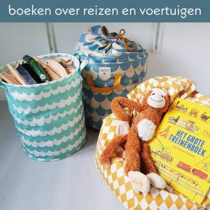 Toffe boeken over reizen en voertuigen voor de Kinderboekenweek