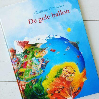 Toffe boeken over reizen en voertuigen voor de Kinderboekenweek: De gele ballon
