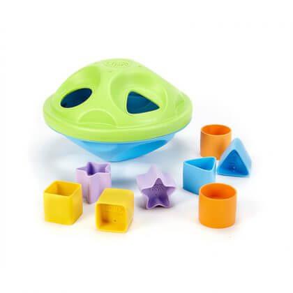 Duurzaam baby speelgoed: Green Toys vormenstoof