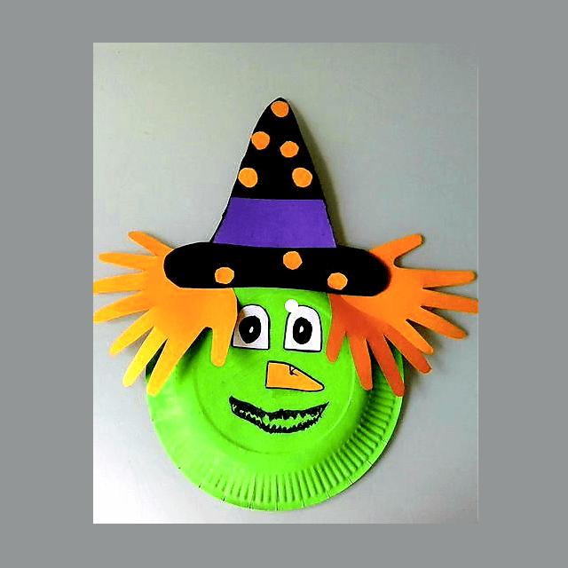 Halloween Heksenmasker