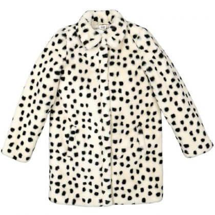 Hema winterjas meisjes dalmatiers