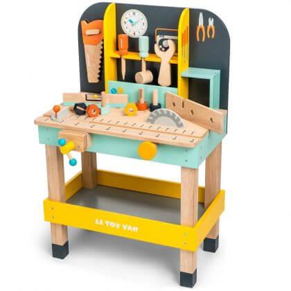 duurzaam speelgoed: Le Toy Van werkbank voor kleine klussers