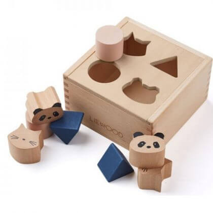 duurzaam baby speelgoed: Liewood vormenstoof