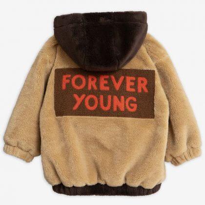 Mini rodini fake fur unisex winterjassen voor meisjes en jongens