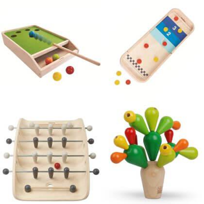 Duurzame cadeaus: Plan Toys Spelletjes