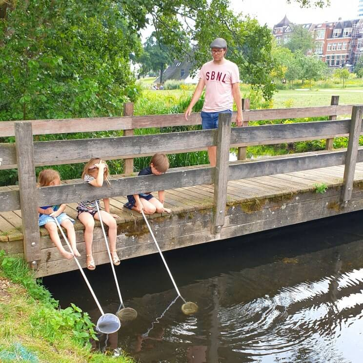 Watermonsters zoeken in het Watermuseum in Arnhem