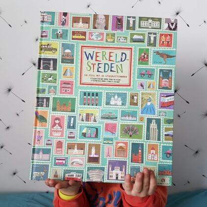 Toffe boeken over reizen en voertuigen voor de Kinderboekenweek: Wereldsteden