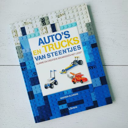 Auto's en trucks van steentjes