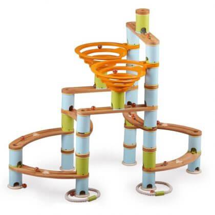 Duurzaam speelgoed: cadeau ideeën voor kinderen - bamboo planet knikkerbaan