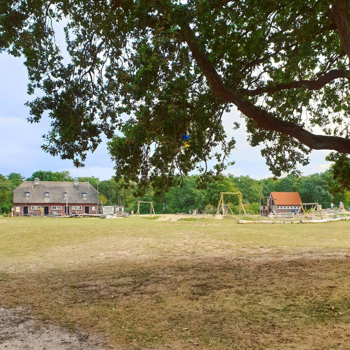 grote speeltuin van camping bakkum