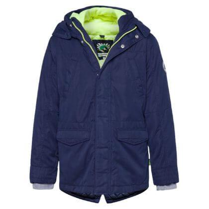 lange winterjas voor jongens van we fashion