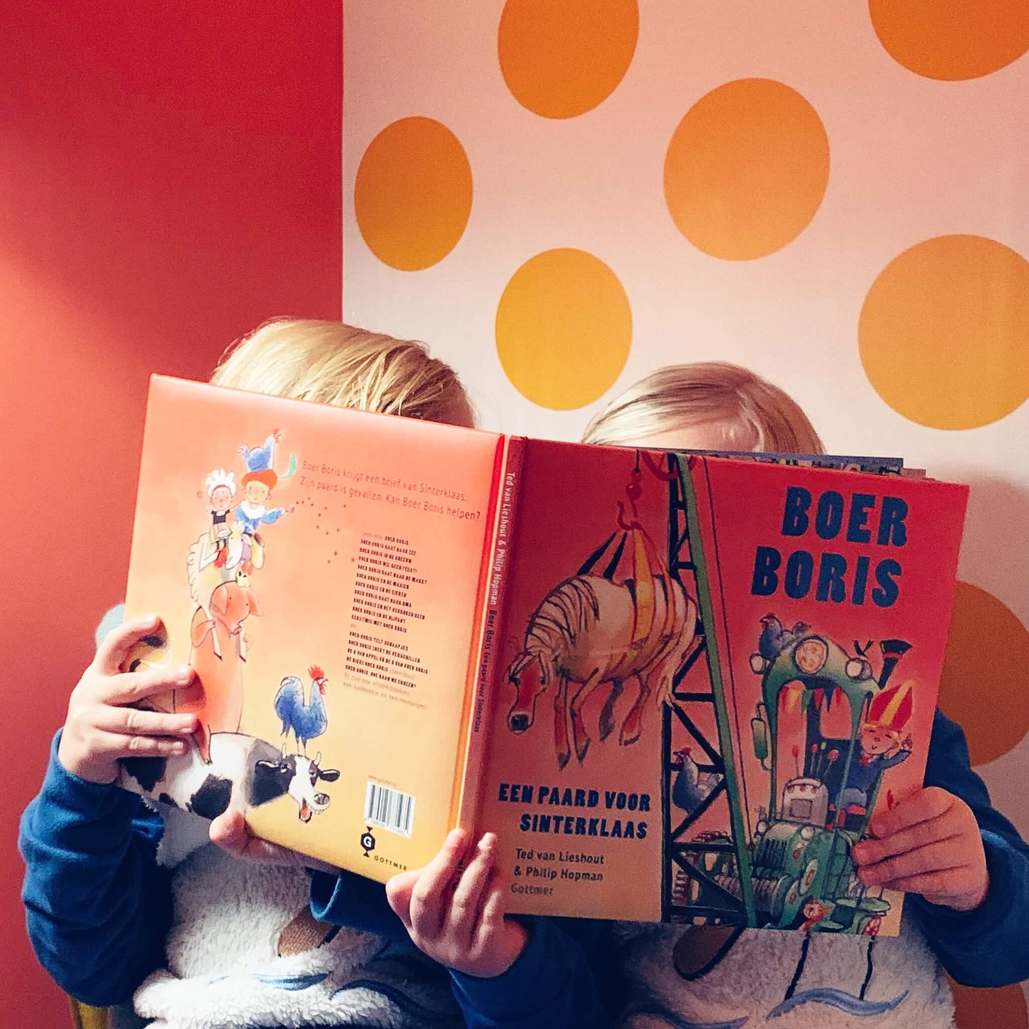 Een nieuw boek van Boer Boris: Een paard voor Sinterklaas