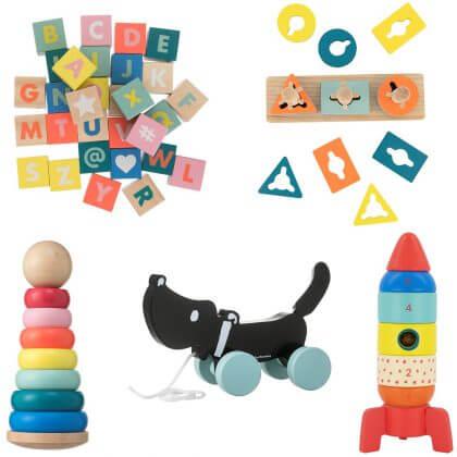 Goedkoop én duurzaam houten speelgoed: baby speelgoed gespot bij de Hema