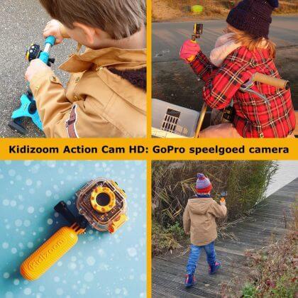 Kidizoom Action Cam HD review: GoPro speelgoed camera voor kinderen