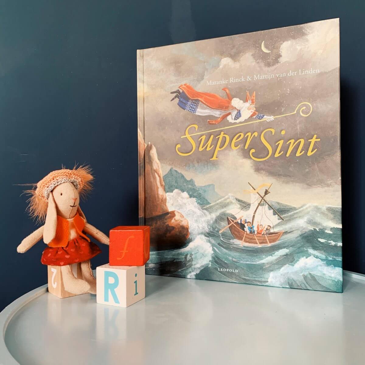 Boek en uitje voor Sinterklaas: SuperSint