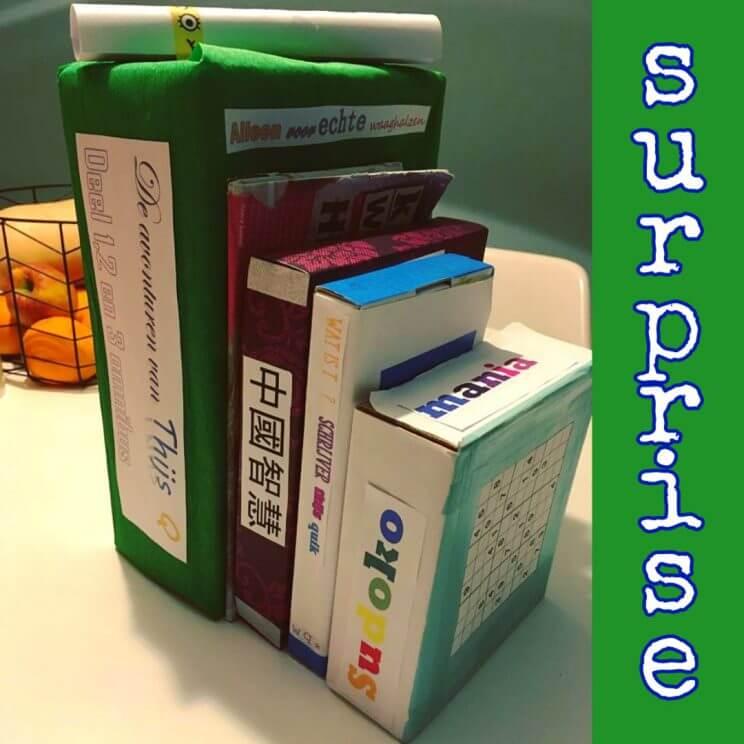 Sinterklaas surprise boeken